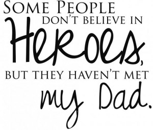 """Simply Charming Way to Say """"I Love You, Dad"""" -"""