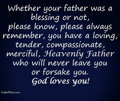 father's were absent, abusive, or dismissive. Whether your father ...