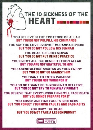 10 sickness of the heart