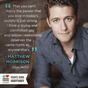 Matthew Morrison quote