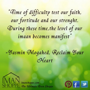 Yasmin Mogahed Quotes...