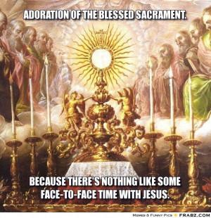 Catholic Eucharist Adoration