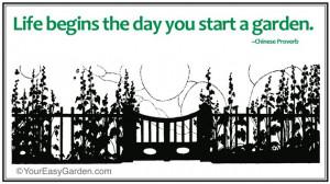 gardening sayings