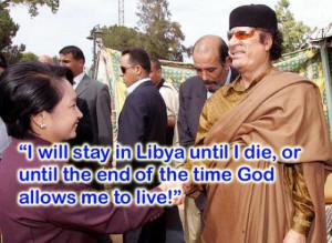 FUNNY MUAMMAR AL-GADDAFI LIBYAN DICTATOR FUNNY PICTURES