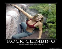 Rock Climbing Never Looked So Interesting