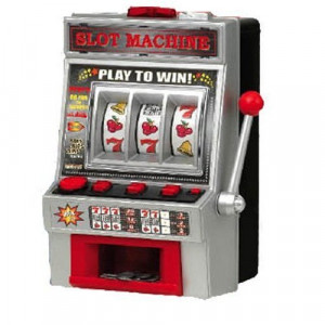 ... of One arm bandit fruit slot machine battery operated from