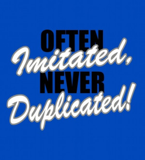 Medical Instrument Products > OFTEN IMITATED, NEVER DUPLICATED
