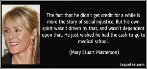 he didn't get credit for a while is more the story of social injustice ...