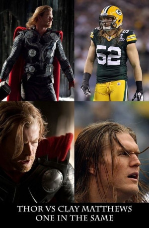 Chris Hemsworth Clay Matthews