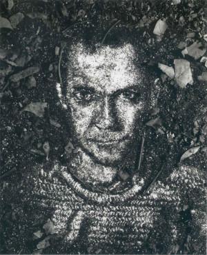 Vik Muniz Self Portrait In Dirt