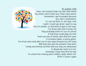An Autistic Child - Children Quote