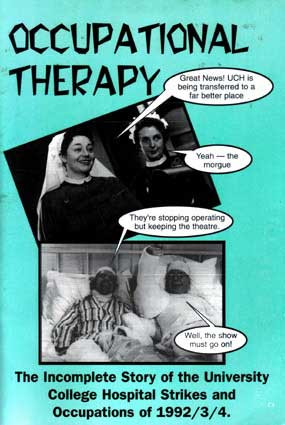 london hospital occupations, early 1990s: occupational therapy (1995)