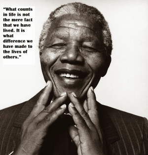 Tribute to Nelson Mandela : Some of His Inspiring Quotes