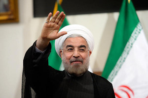 Rohani vows to reset Iran's relations with the world