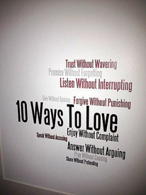 10 Ways to Love: Trust Without Wavering Promise Without Forgetting ...
