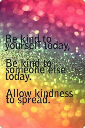 Spread kindness!
