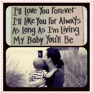 ... began with waking up mother son quotes mom i love you more than you