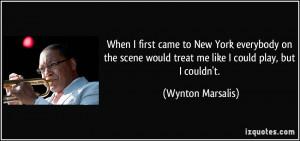 More Wynton Marsalis Quotes
