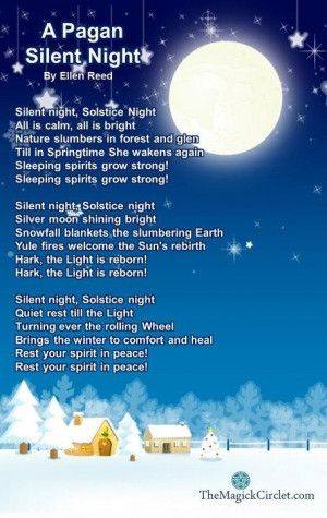 Winter Solstice: Pagan Carols -