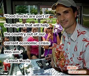 Leland Morris Food Truck Quote