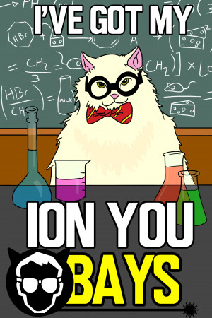 Chemistry Cat Science...