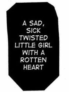 sad, sick twisted little girl with a rotten heart. - tags: manga ...