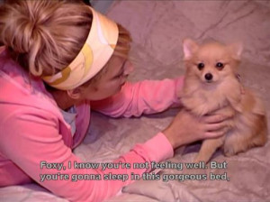 cute, dog, funny, nicole richie, quote, show, television, the simple ...