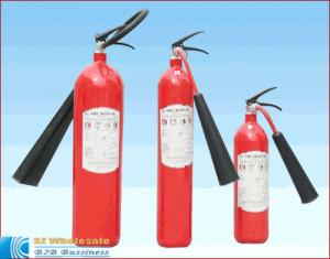 mobile carbon dioxide fire extinguisher portable extinguishers