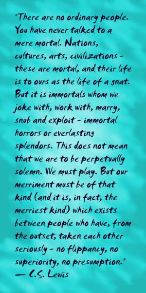 Quotes Lewis Lewi Quot God