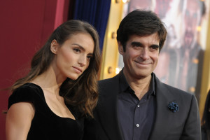 Illusionist David Copperfield Right And Model Chloe Gosselin Arrive At ...