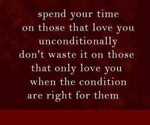 Spend your time