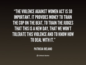 Violence Against Women Quotes