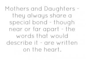 Mothers And Daughters: Mothers And Daughters ~ Family Inspiration