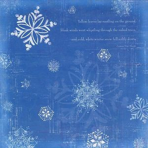 Snowflake Quotes And Sayings Snowflake quote 12x12 paper