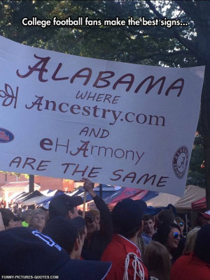 College Football Sign