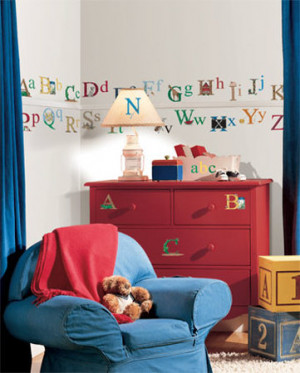 Alphabet Wall Decal - AllPosters.co.uk