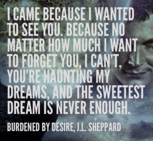 Burdened by Desire, paranormal romance