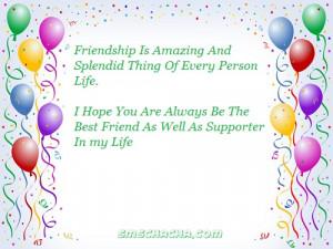 Best Friends SMS Messages