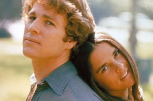 Ryan O'Neal & Ali McGraw,