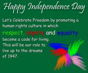 Happy Independence Day -14 August