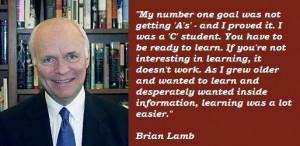 Brian lamb famous quotes 3
