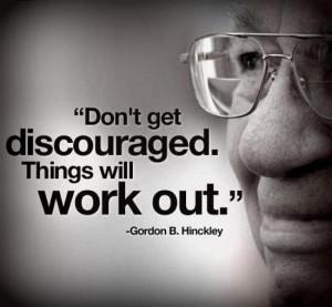 Gordon B. Hinckley Quote: