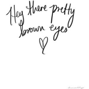 Pretty Brown Eyes ~Cody Simpson Song lyrics-quotes