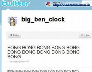 Big Ben twittert