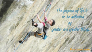 "... Quotes about Lessons learned in Life"": Boy Climbing With Life"