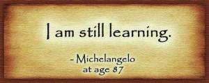 still learning.
