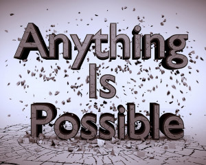 Anything is Possible | Inspirational Quotes Wallpapers