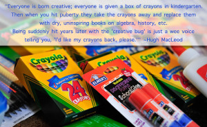 ... funny thing happened about six years ago: I wanted my crayons back