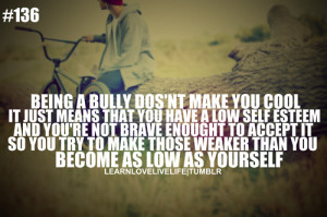 Stop Bullying Quotes Tumblr Stop bullying swag ill