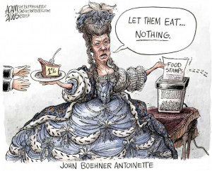 ... by Adam Zyglis, The Buffalo News on GOP Votes to Cut Food Stamps